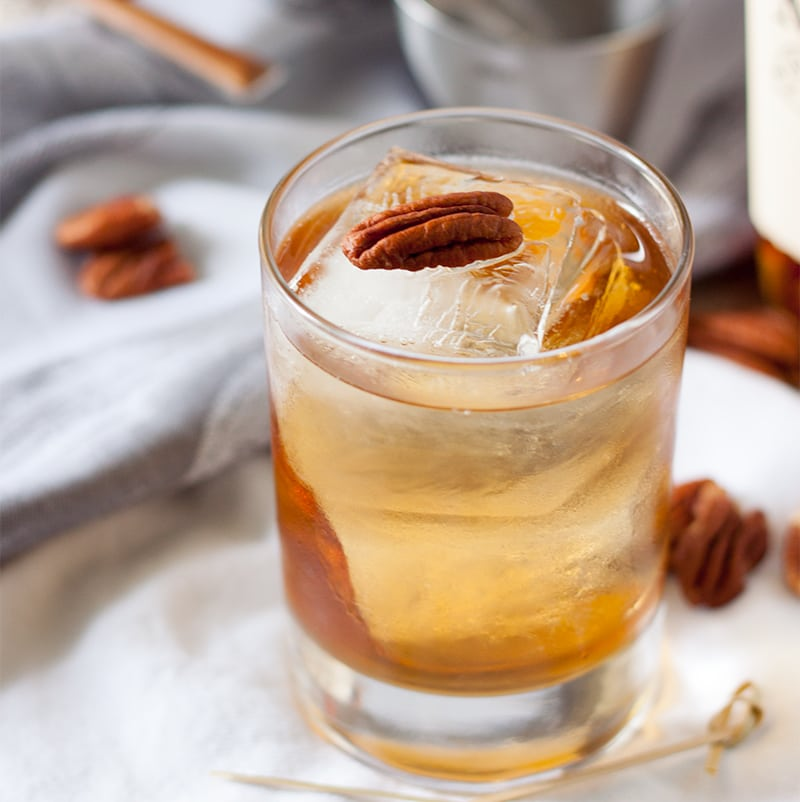 Bourbon Pecan Pie Cocktail