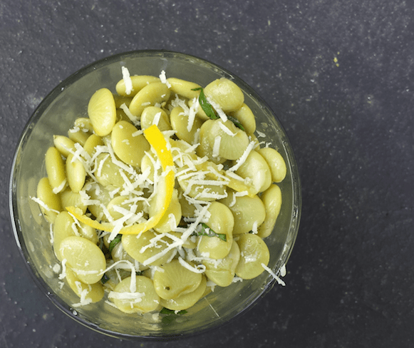 Lemony Lima Bean Summer Salad