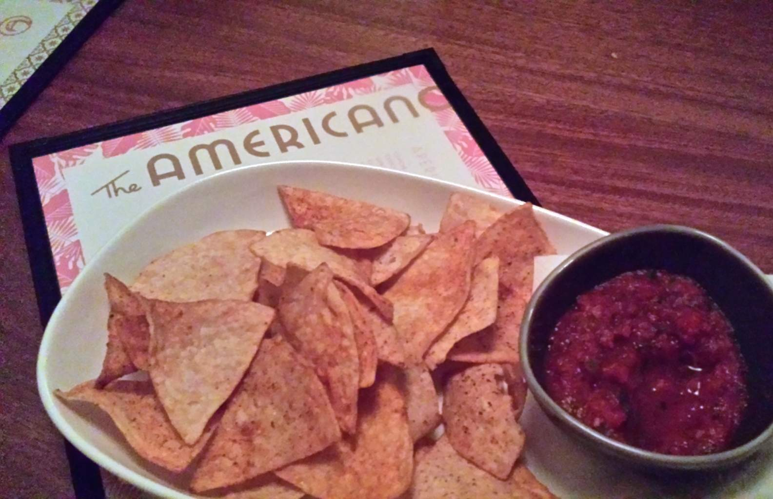 Chips and Salsa at The Americano
