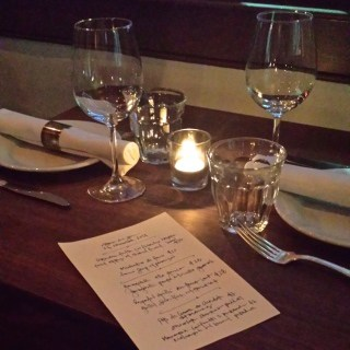 Chez Nous Table for Two