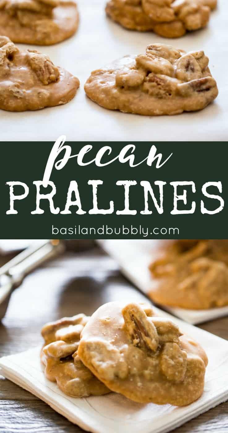 Pecan Praline Recipe Pin Image