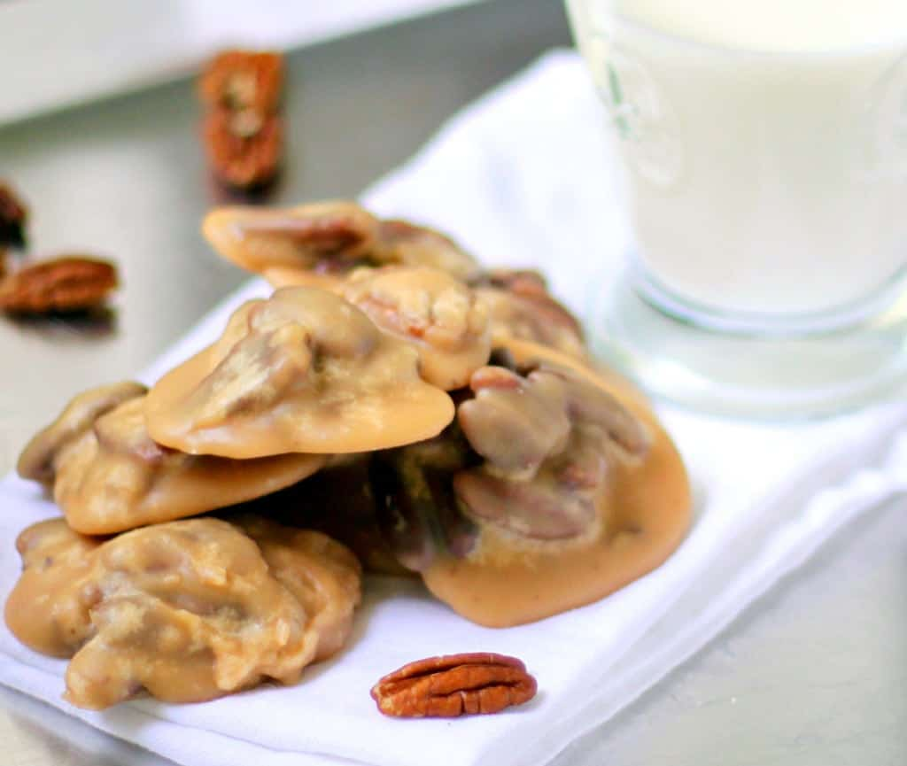 Pile of Classic Southern Pralines