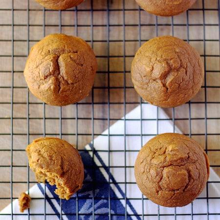 Better Cake Mix Pumpkin Muffins