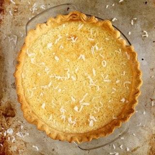 Coconut Buttermilk Pie