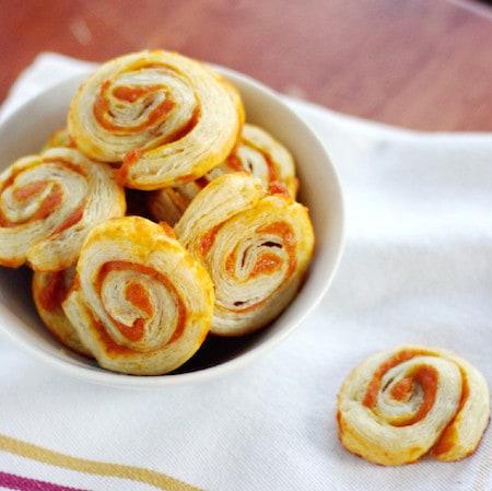 Pumpkin Pinwheels