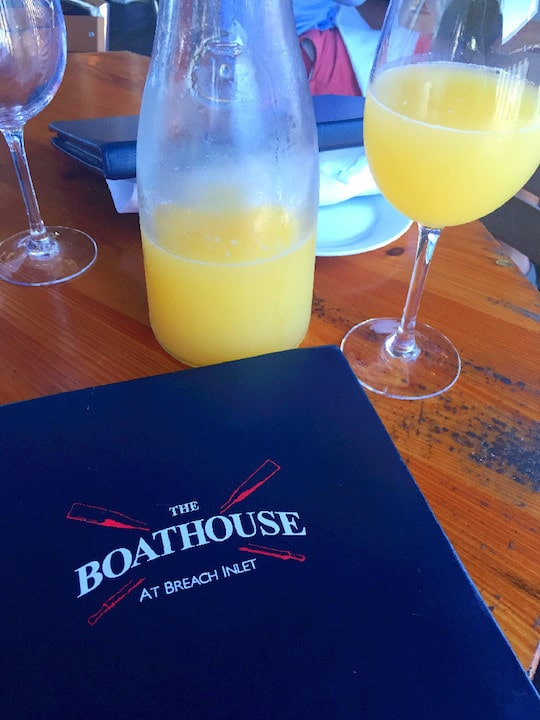 The Boathouse Mimosa Brunch