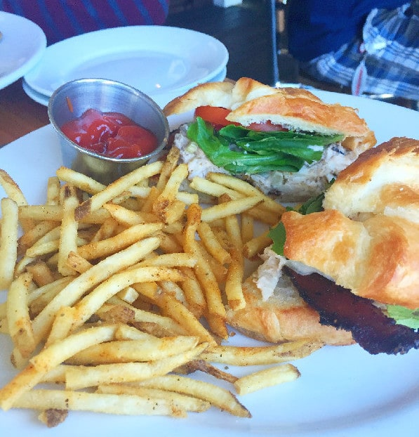 The Boathouse Crab BLT