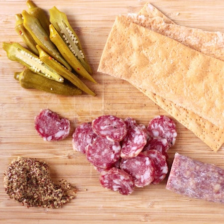 Quick Charcuterie Plate