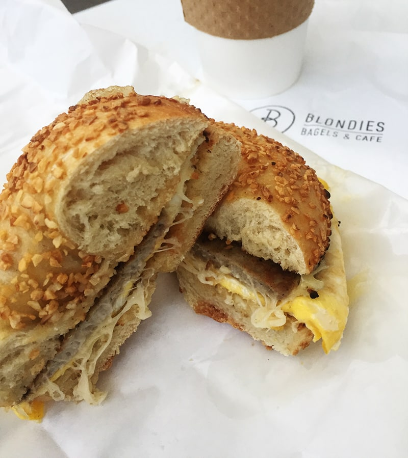 Blondie's Bagel Sandwich
