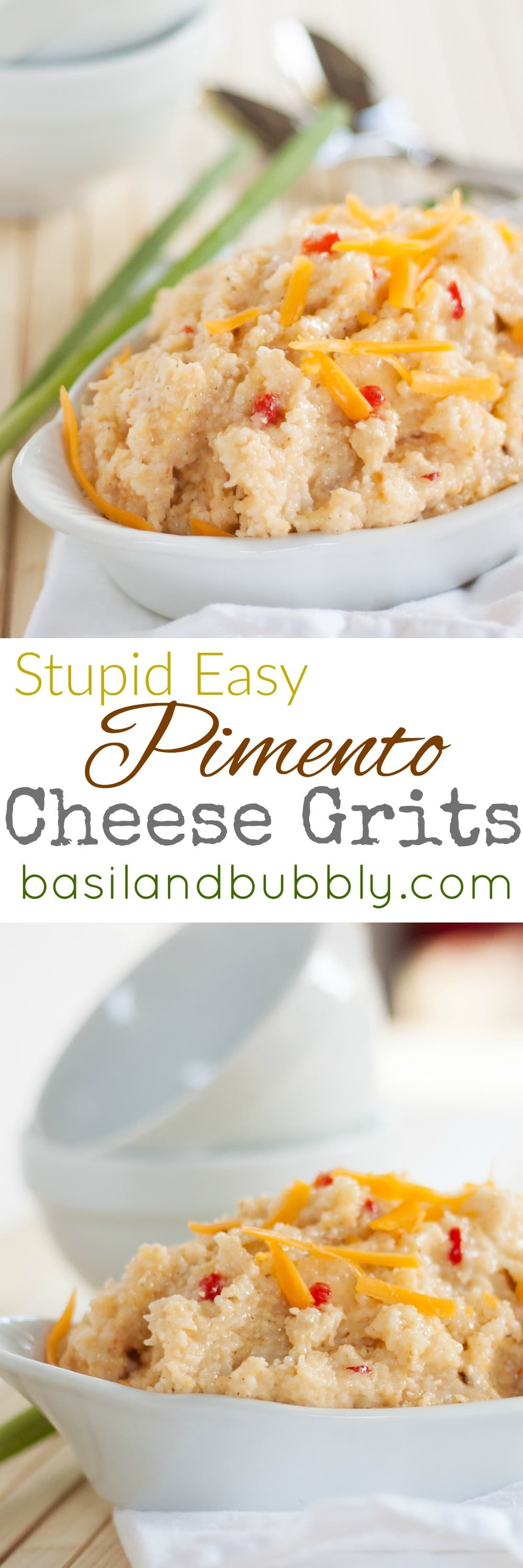 Easy Pimento Cheese Grits