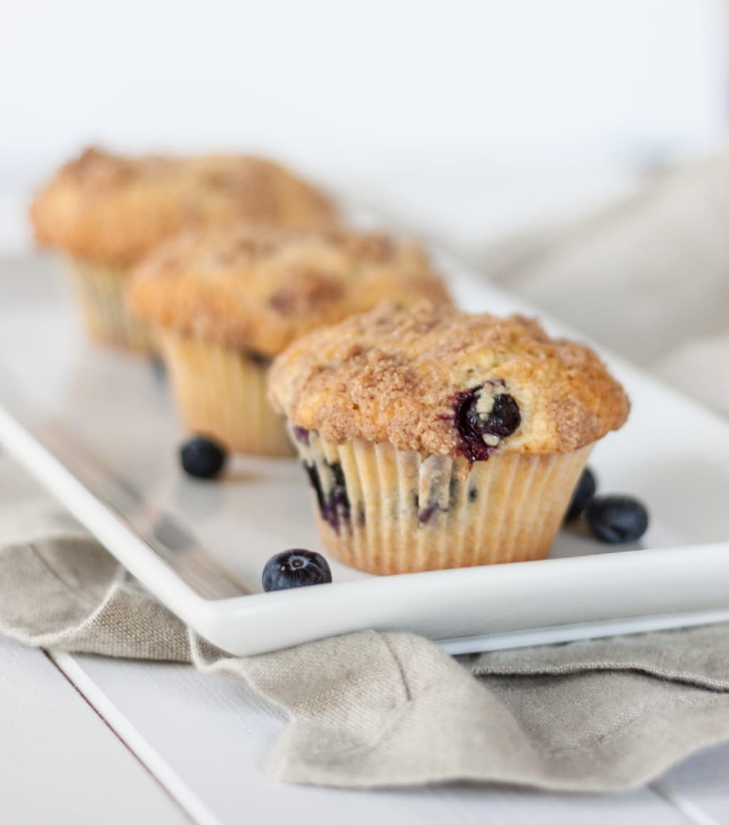 Blueberry Muffins that are BETTER than the bakery