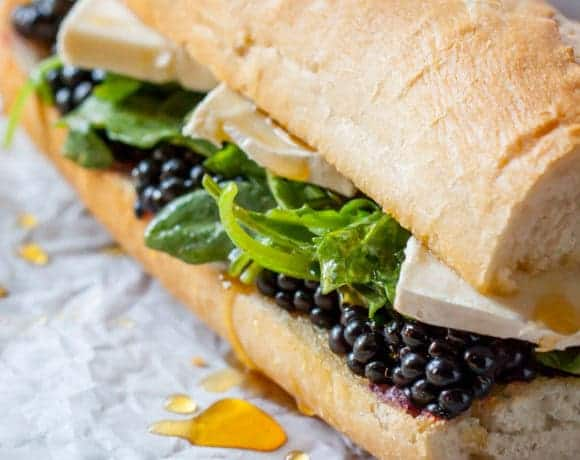 Blackberry Brie Sandwich