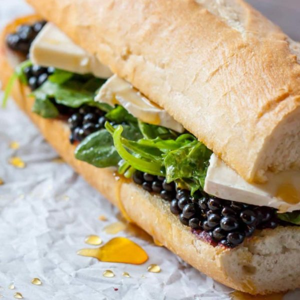 Blackberry Brie Sandwich