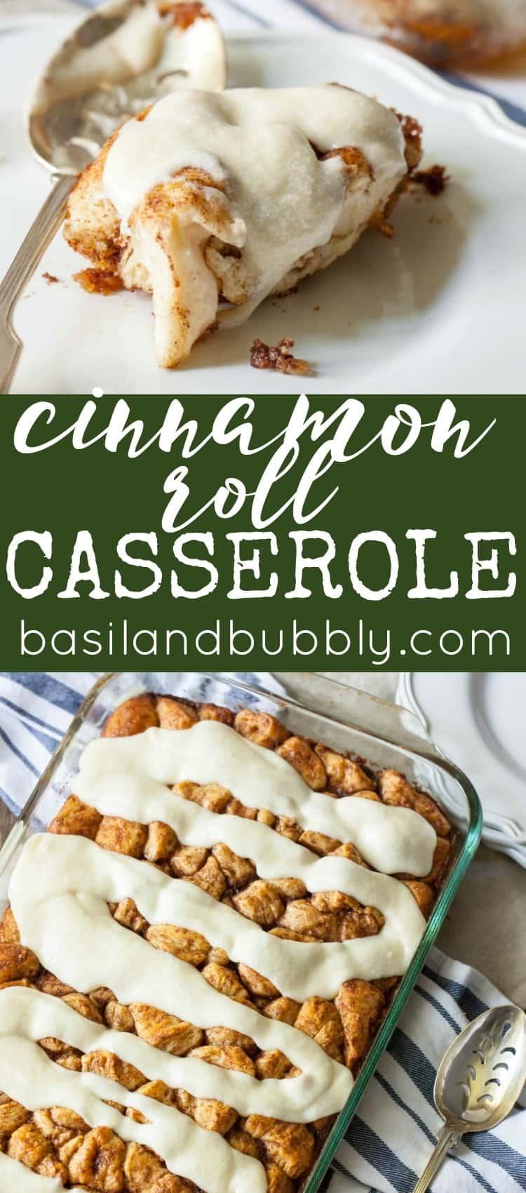 Cinnamon Roll Casserole Recipe