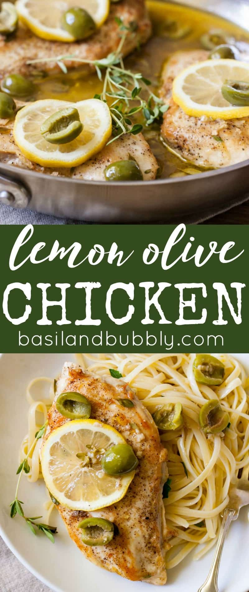 Lemon Olive Chicken Breasts Recipe