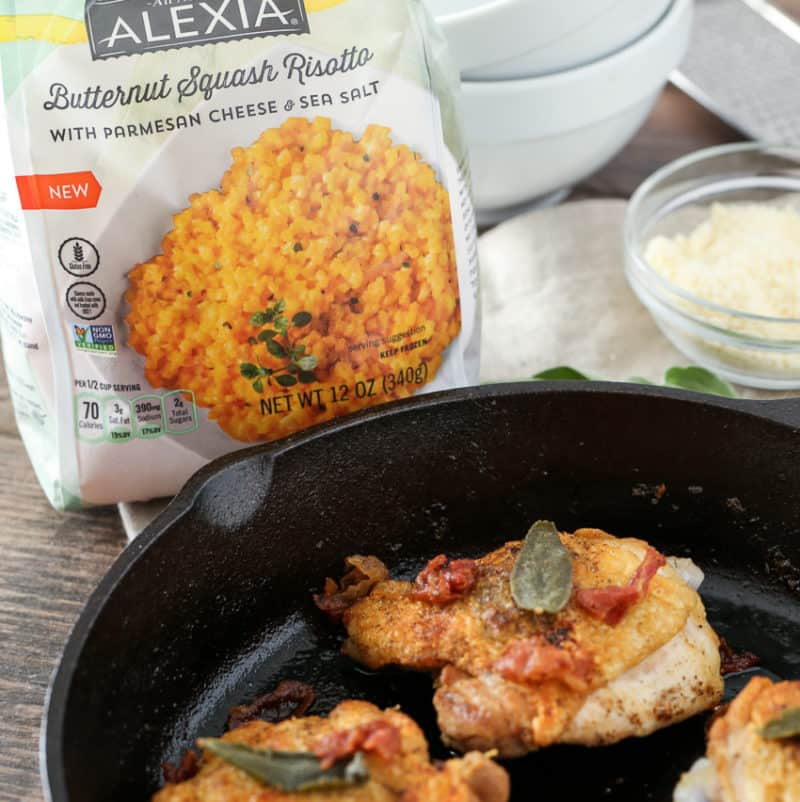 Chicken Thighs Two Ways with Alexia