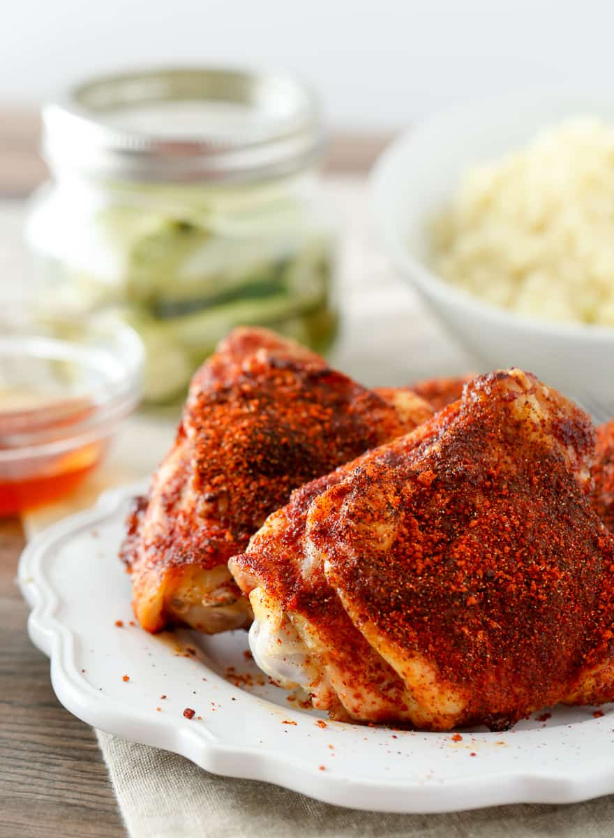 Alexia Low Carb Premium Side Dish with Baked Nashville Hot Chicken