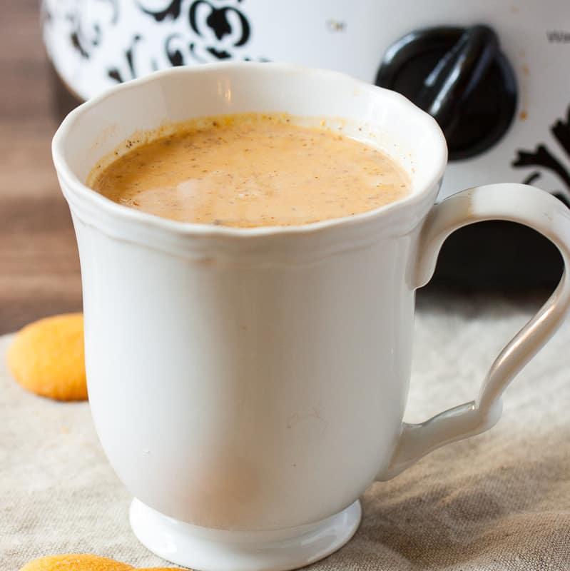 slow cooker drinkable pumpkin pie