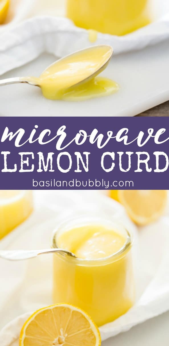 Easy Microwave Lemon Curd Recipe