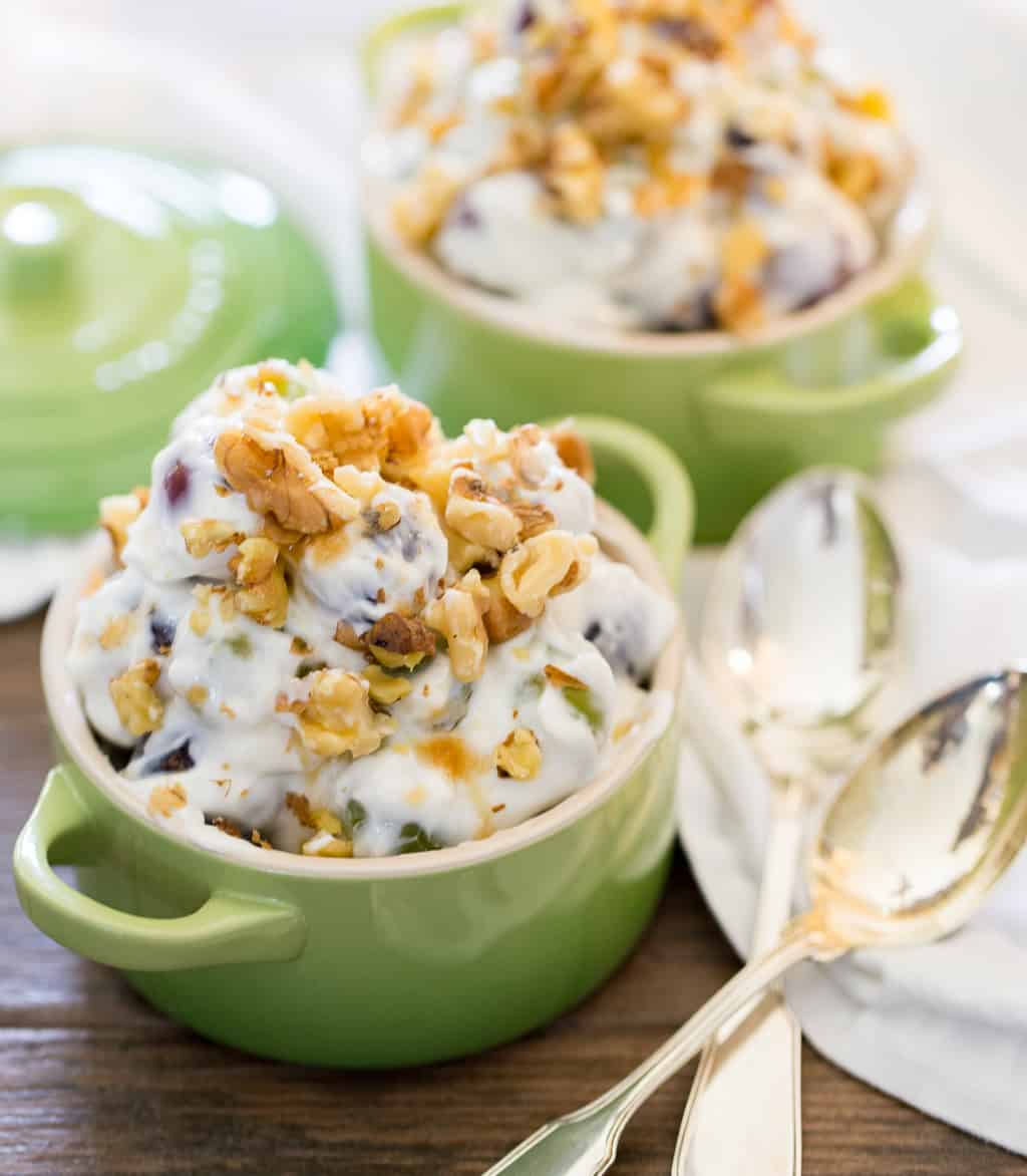 cream cheese grape salad recipe