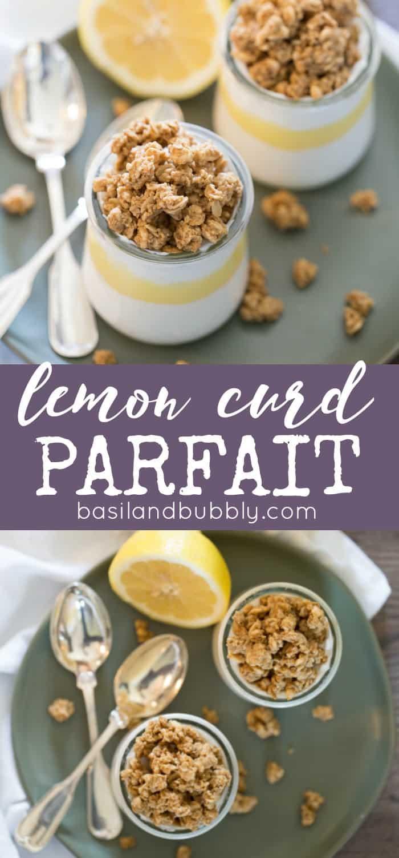leftover lemon curd parfait recipe