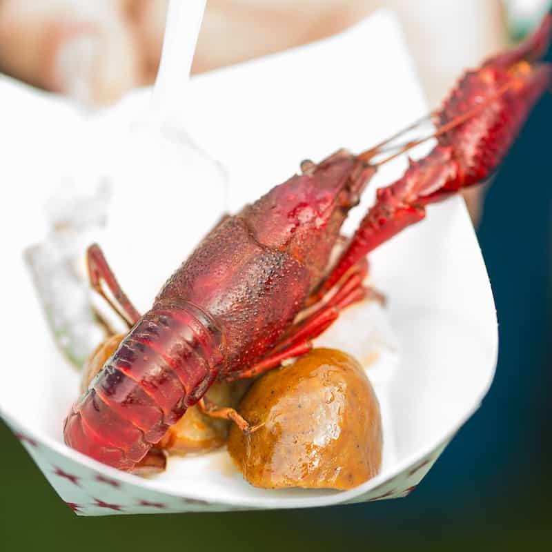 Atlanta Food and Wine Crawfish
