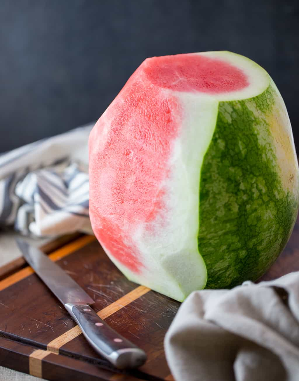 Watermelon Carved for Watermelon Cake