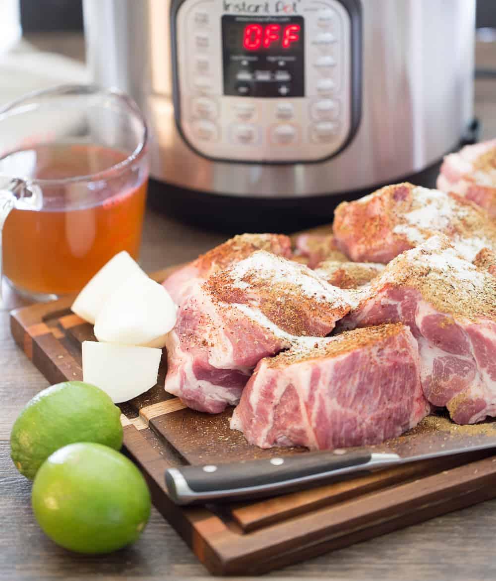 pork shoulder for Instant Pot Carnitas