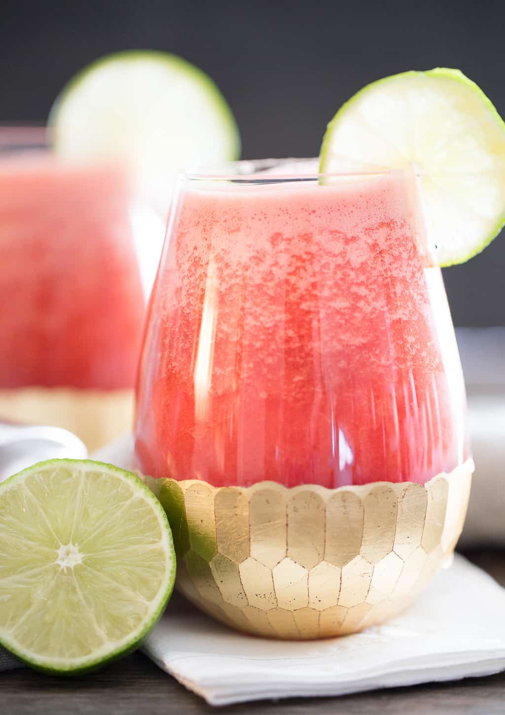 Tequila Watermelon Cocktail ready to drink