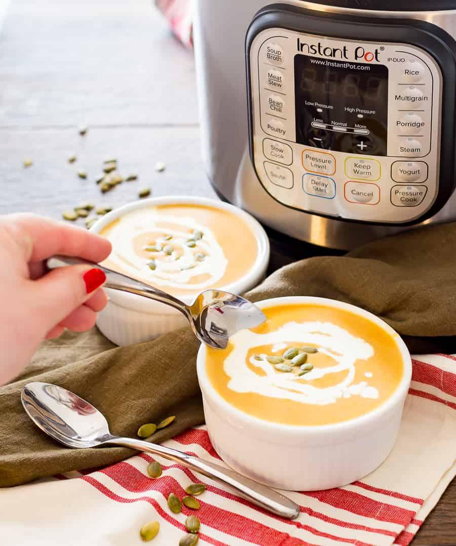 Easy butternut squash soup cream cheese