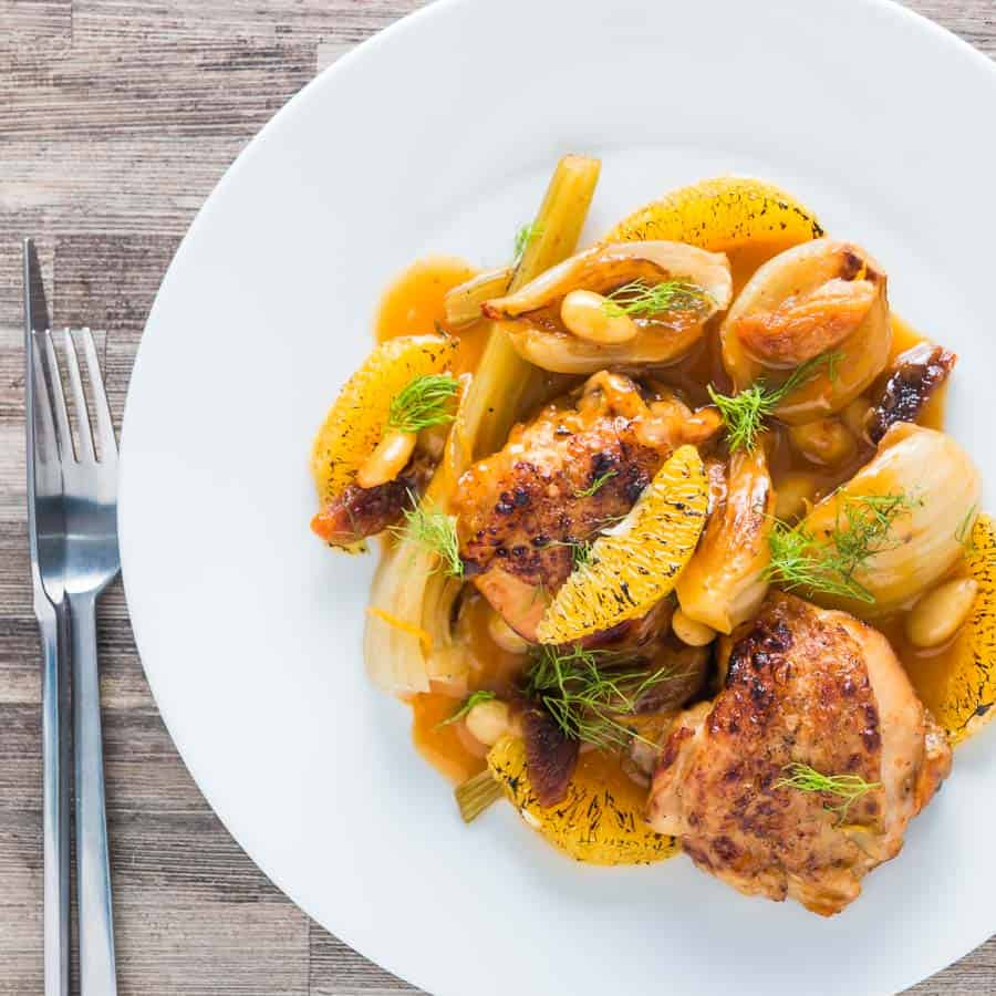 Krumpli Instant Pot Fruity Fennel Chicken Thigh Recipe