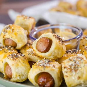 Everything Puff Pastry Pigs in a Blanket