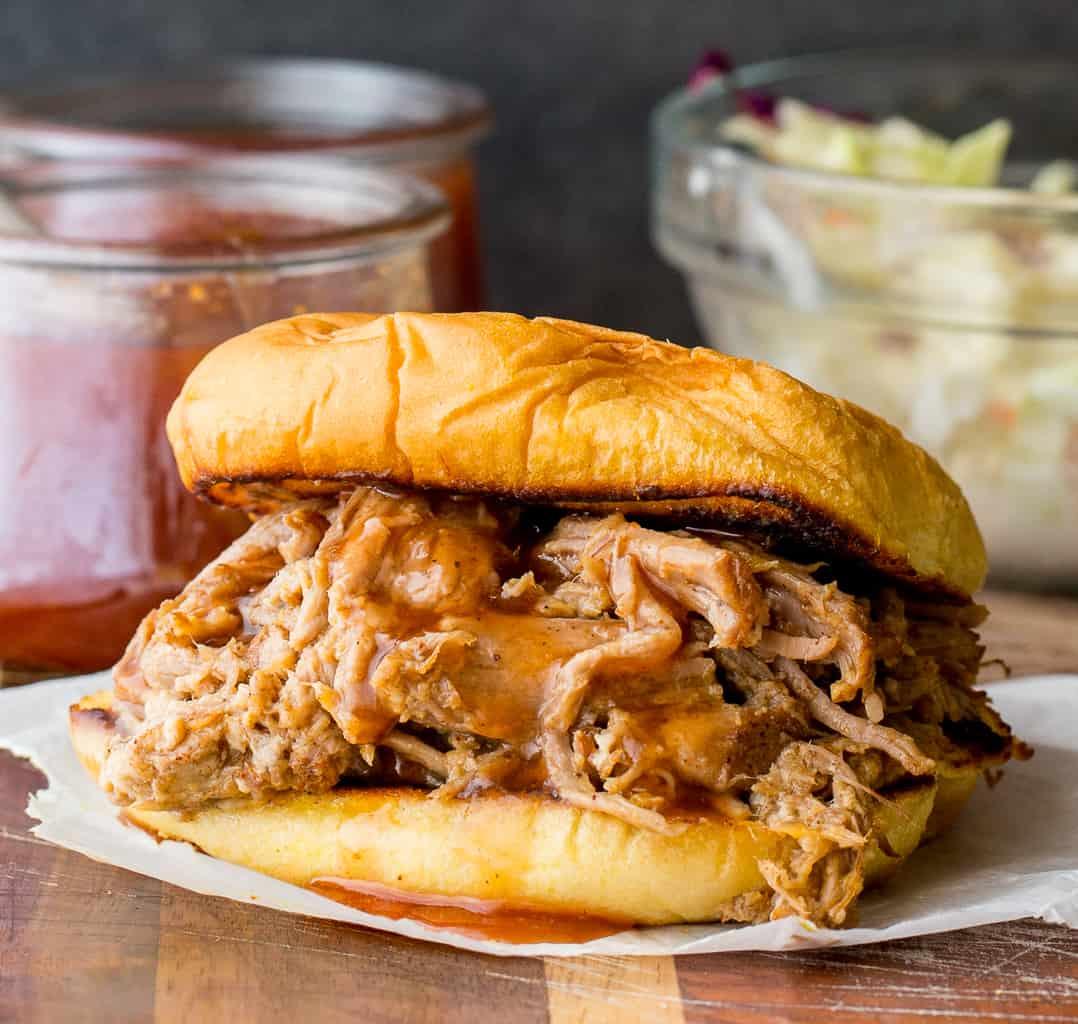 Carolina Vinegar BBQ Sandwich