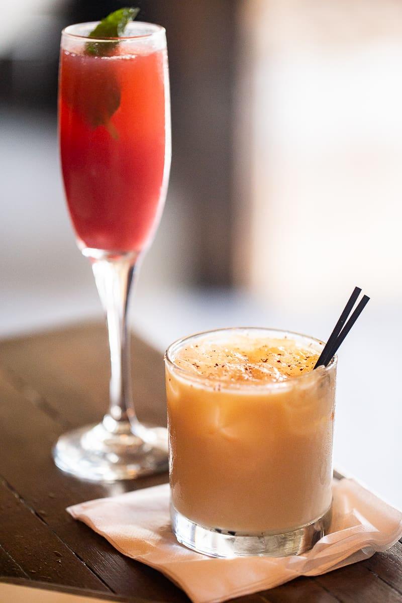 Prohibition Brunch Cocktails