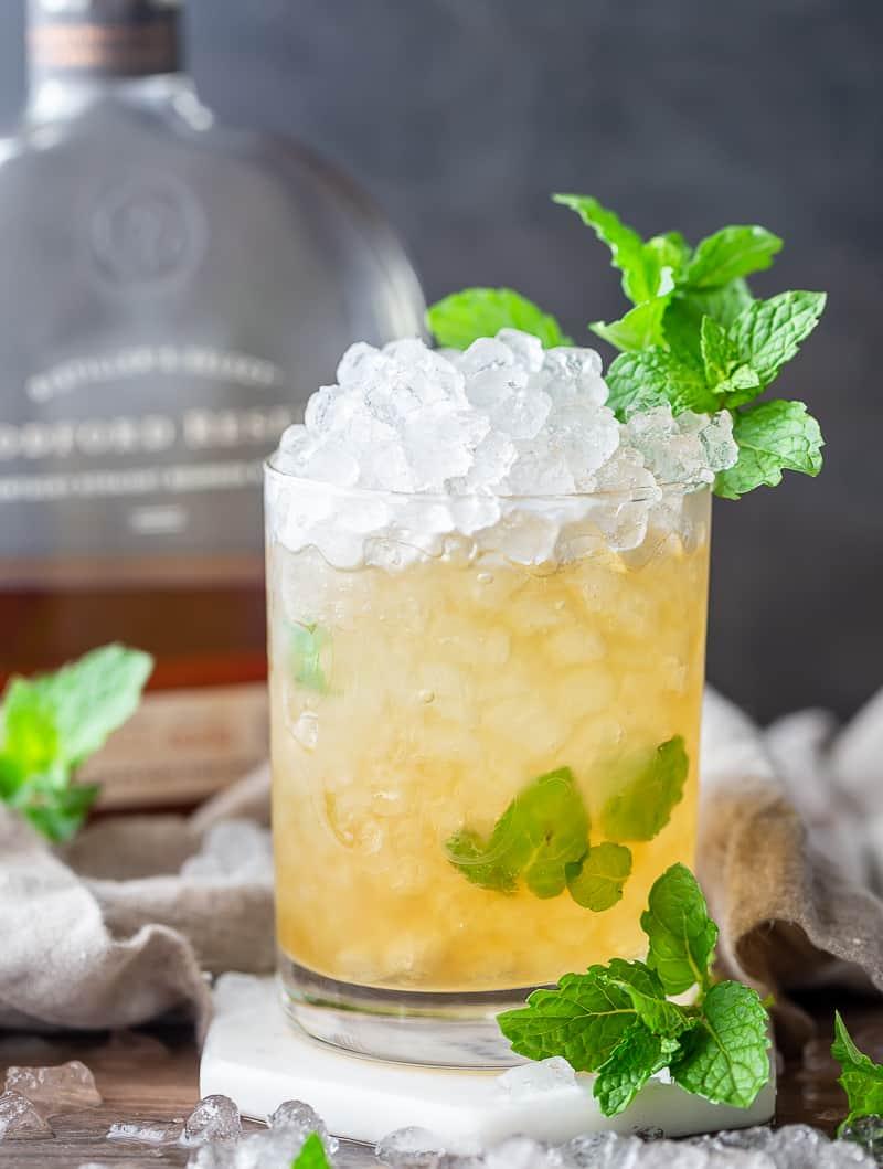 Classic Mint Julep in a rocks glass