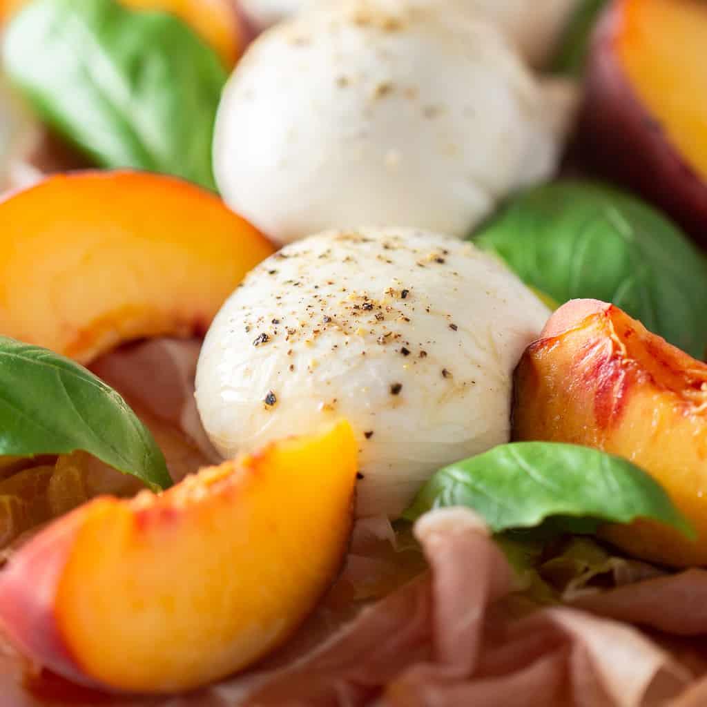 Burrata Peach Salad