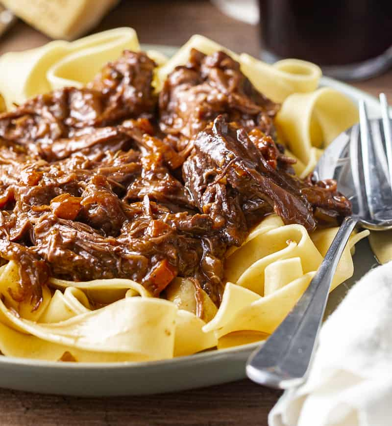 short ribs with pasta