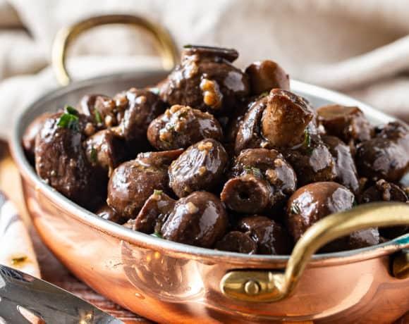 Garlic Butter Mushrooms