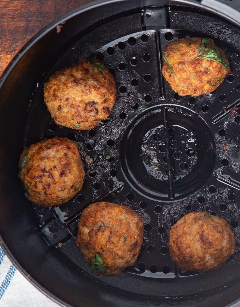 Air Fried Meatballs