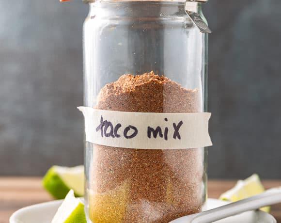 homemade taco mix recipe