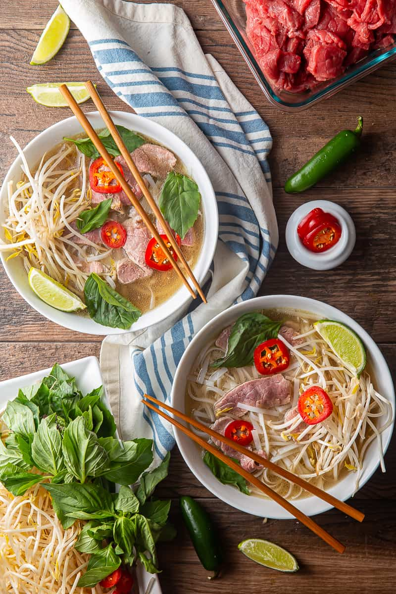 Instant Pot Pho with Beef