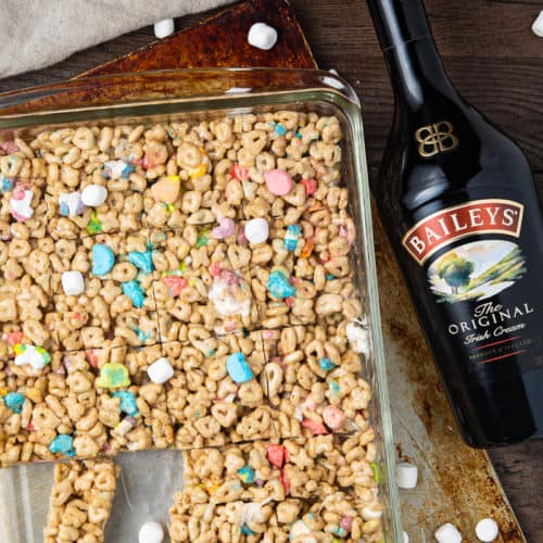 Rice Krispy Lucky Charms Treats