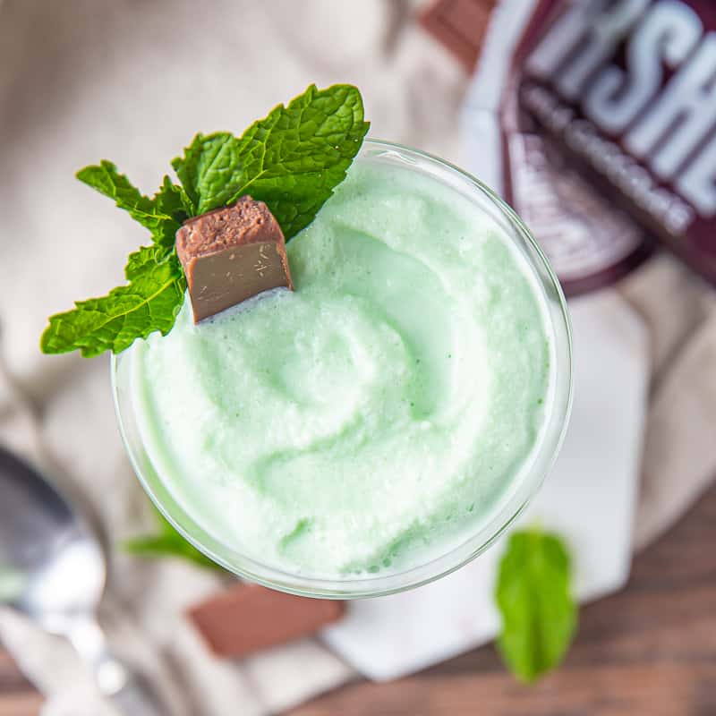 frozen grasshopper cocktail