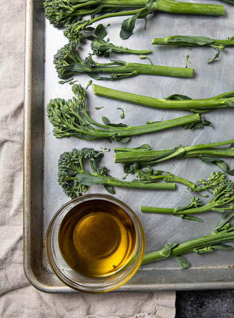 how to bake broccolini