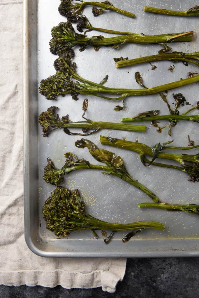 how to roast broccolini