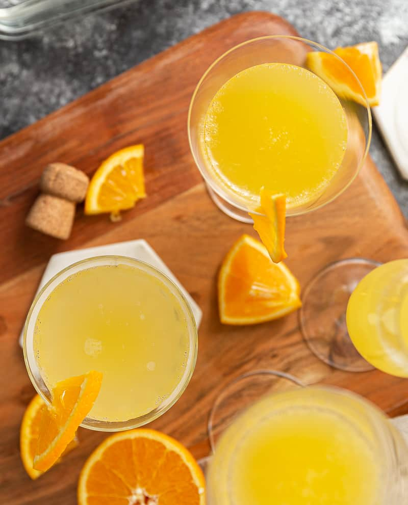 orange juice for mimosas