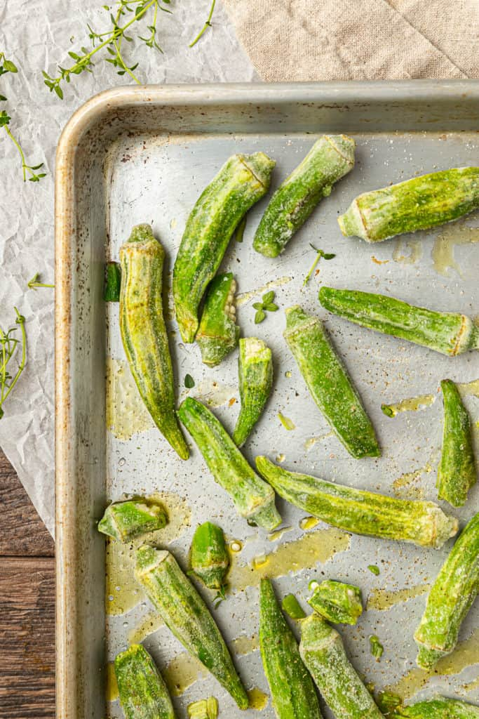 frozen okra recipe