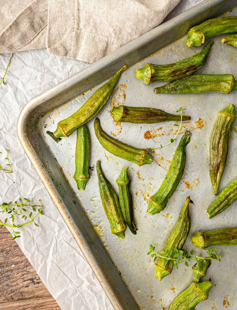how to cook frozen okra