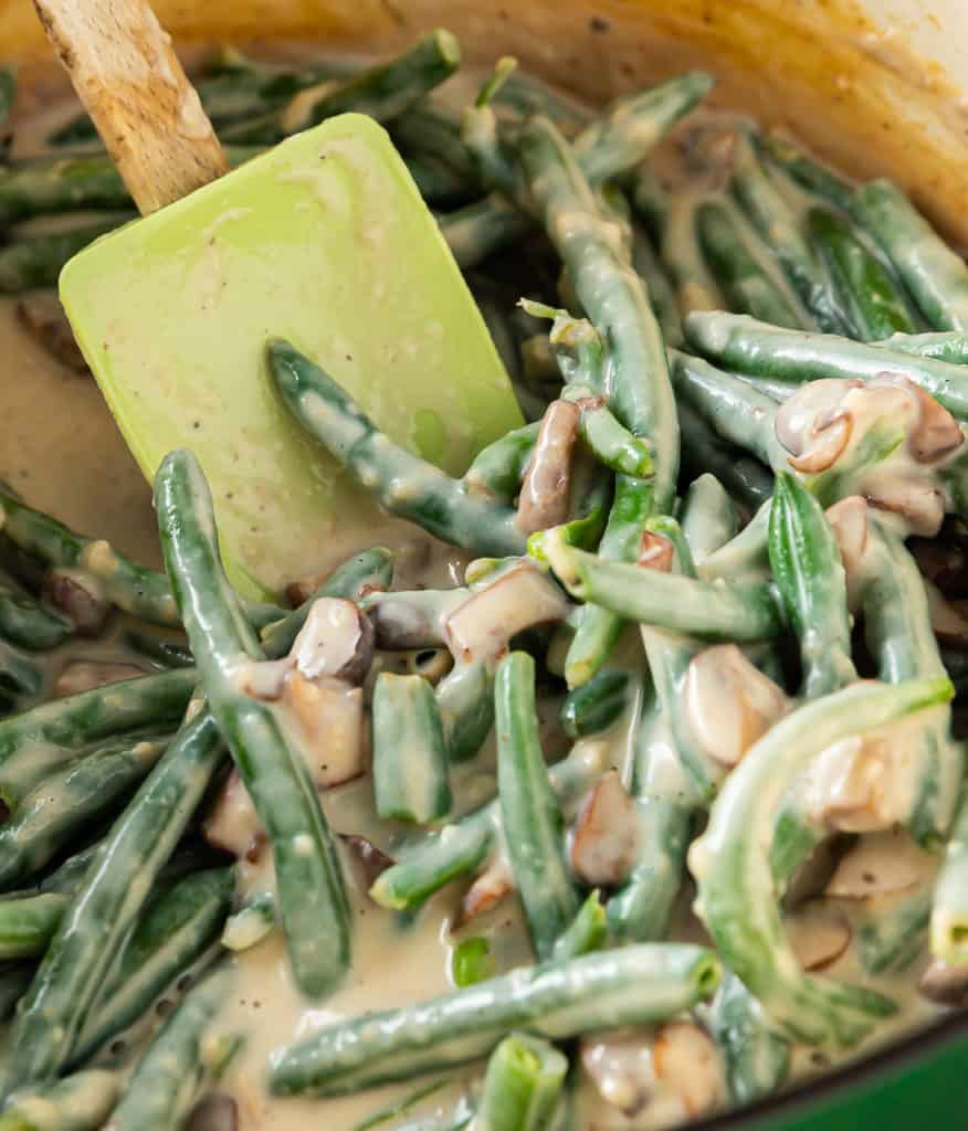 green bean casserole without canned soup