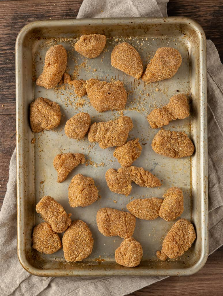 coating for air fryer chicken nuggets